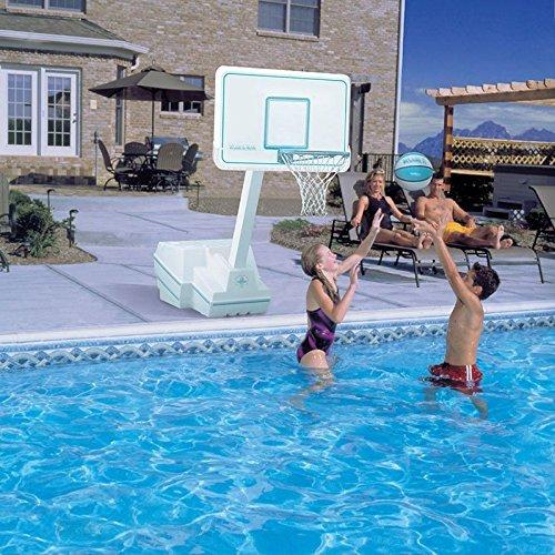 (Dunnrite Splash and Slam Portable Swimming Pool Basketball Game Set)