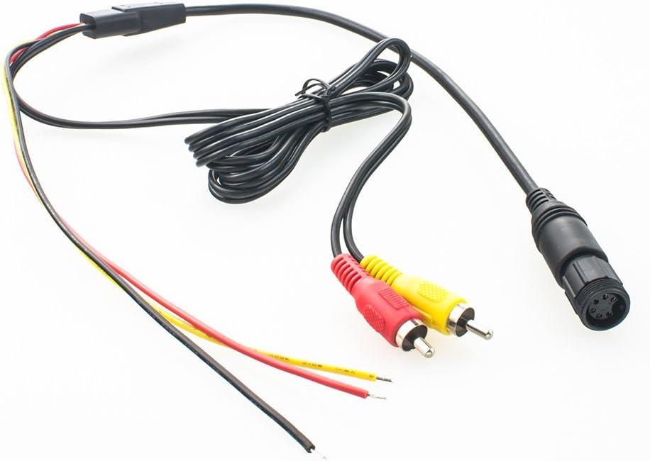 Maxxcount Rückfahrkamera Anschlusskabel 6 Polig Auf Elektronik