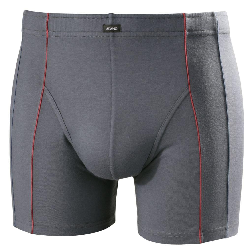 Adamo Boxer Microfibre Grande Taille Gris Fonc/é Mike