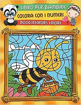 Libro Per Bambini Colora Con I Numeri Libro Da Colorare Per