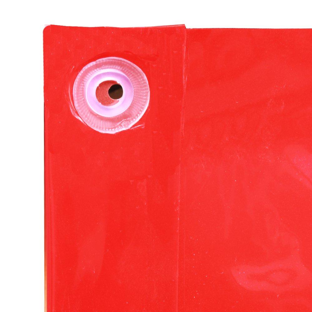 6 x 6 6/' x 6/' Zhengzhou Aucs Co VIZ-PRO Red Vinyl Welding Curtain//Welding Screen With Frame Ltd.