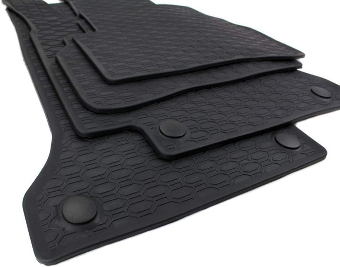 Kfzpremiumteile24 Gummimatten Kompatibel Mit C Klasse W205 S205 T Modell Baujahr Ab 02 2014 Premium Fußmatten Allwetter Schwarz 4 Teilig Auto