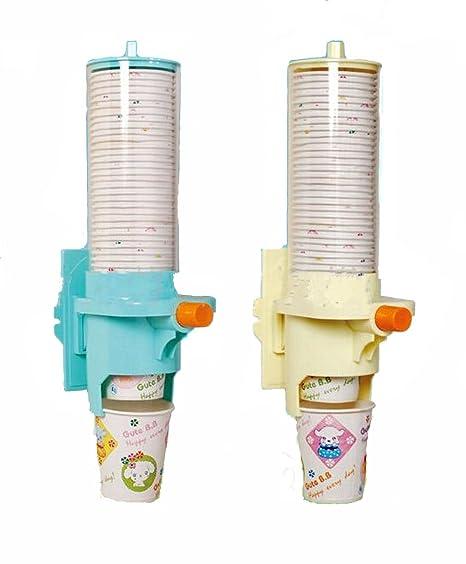Vasos de papel desechables Hengsong soporte de plástico para organizador Home dispensador de agua