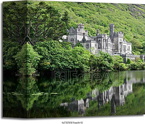 Kylemore Abbey Castle Gallery Wrapped Canvas Art (6in. x 6in.) ()