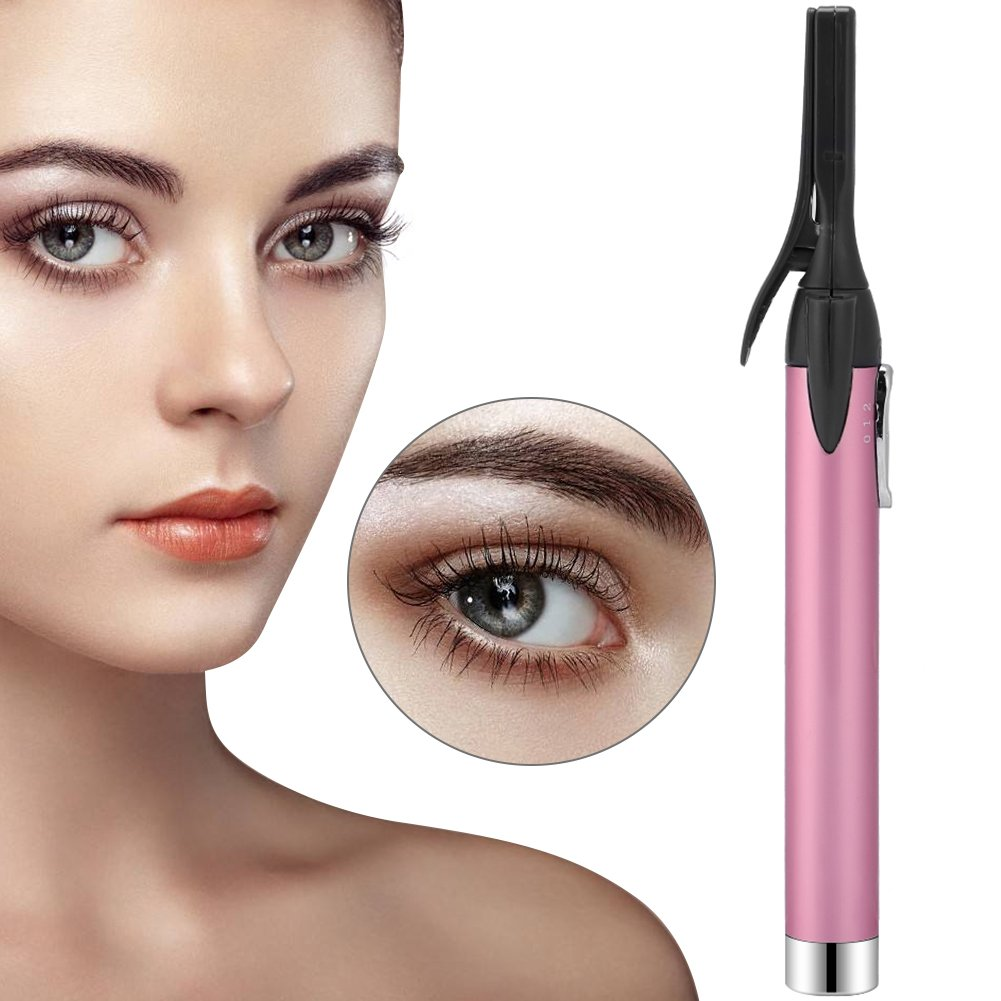 Electric Heated Eyelash Curler, Eye Lash Long Lasting Curled Styling Pen Natural Stereo Eye Lashes Applicator Makeup Tool ZJchao