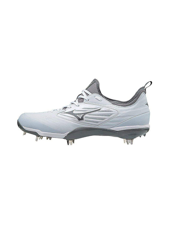 Epiq Metal Cleat Baseball Shoe, White