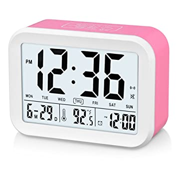 Famicozy - Reloj despertador parlante (en inglés)