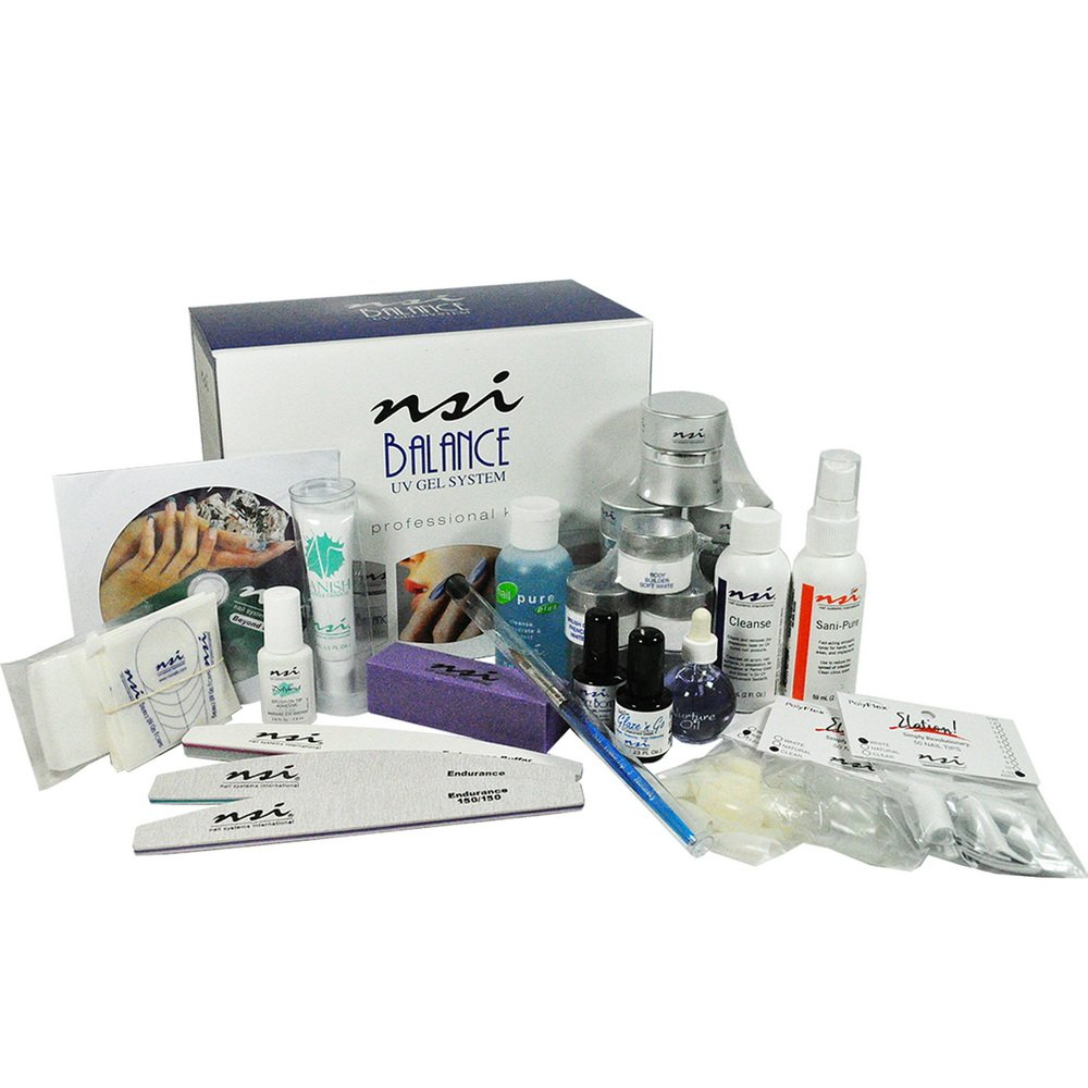 Amazon.com : NSI Balance UV Gel Professional Kit : Nail Polish And ...
