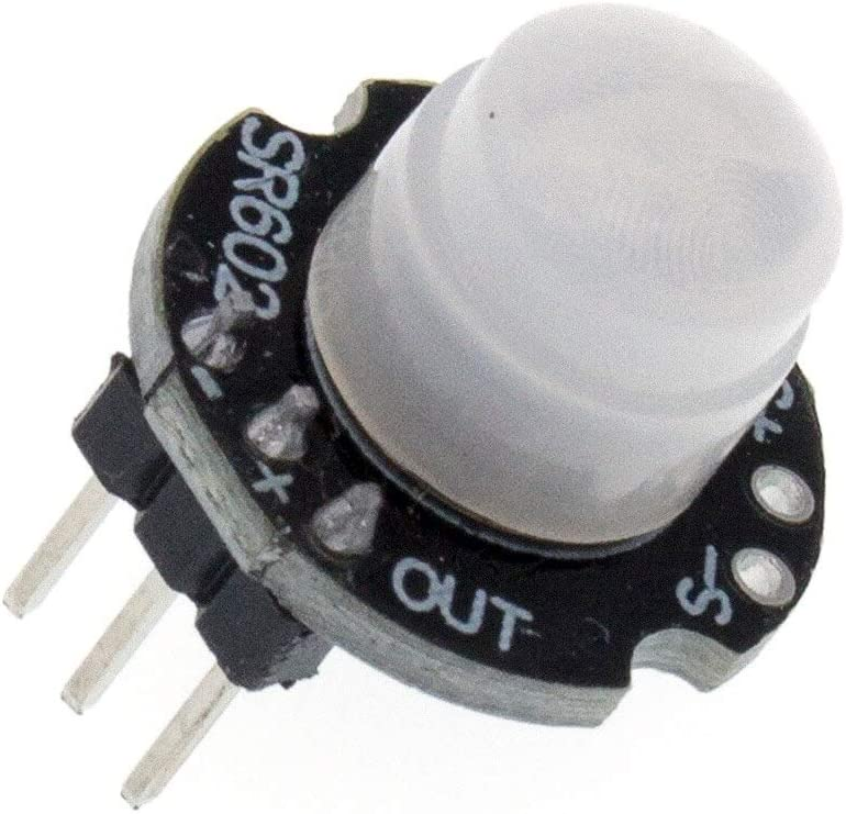 1PCS MH-SR602 MINI M/ódulo detector de sensor de movimiento M/ódulo piroel/éctrico infrarrojo PIR interruptor sensorial Soporte para arduino Diy Con lente