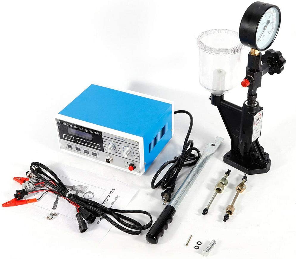 600 Bar 8000PSI CR-C Multifunction Diesel Common Rail Injector Tester S60H Fuel Nozzle for 6190//6200//6170 Diesel Common Rail Injector Tester Kit
