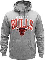 Mitchell & Ness NBA Chicago Bulls Team Arch Hoody Hoodie Sweater Herren Mens
