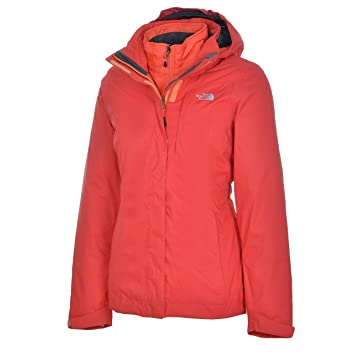 Alteo Women The Triclimate Face North Red Jacket Melon 0mwOvnN8