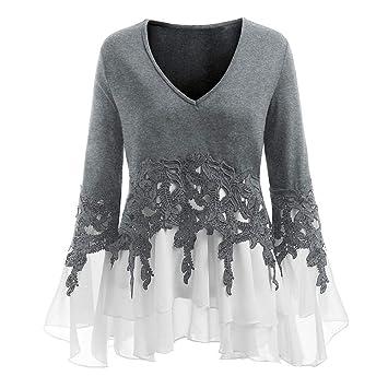 Mujer y Niña otoño fashion carnaval,Sonnena ❤ Blusa casual de moda para mujer