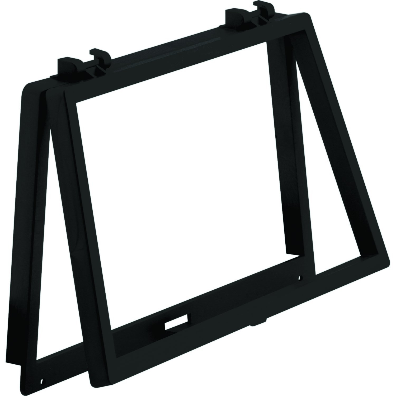 Prime-Line Products PL 14695 Wicket Black Plastic 6-1//8 x 10-1//8