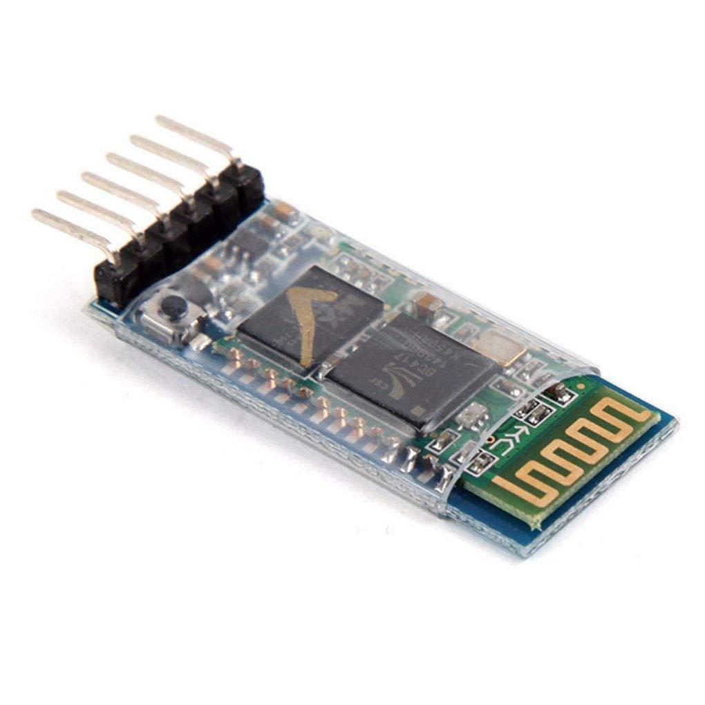 Bobury Junta de Serie del m/ódulo HC-05 Wireless Anti-Reverso transceptor RF inal/ámbrica Bluetooth