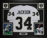 Bo Jackson Autographed White Raiders Jersey