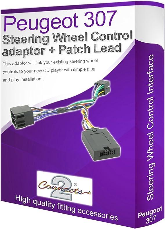 307 adaptador de cable estéreo para coche, conecta los ...