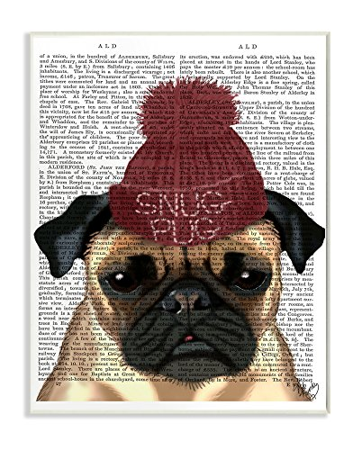 The-Stupell-Home-Decor-Collection-Snug-Pug-Wall-Plaque