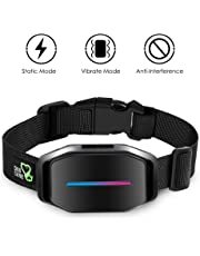 Dog Bark Collar - Effective Bark Collar for Dogs Sound Vibration & Automatic 7 Levels Shock Modes Training Collar w/LED Indicator Easy to Use Dog Shock Collars