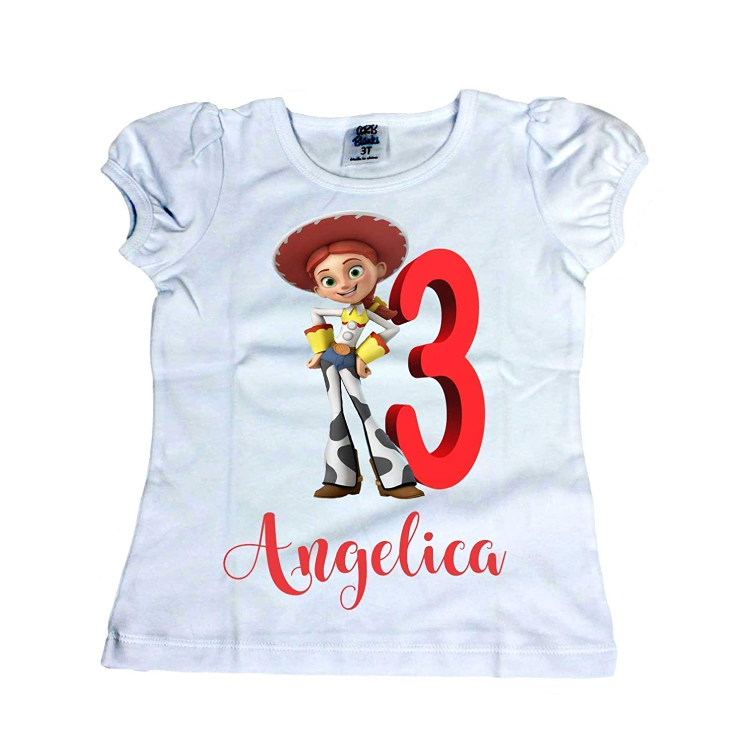 Girl Jessie from Toy Story shirt Girl Toy Story shirt Girl Disney Jessie birthday shirt