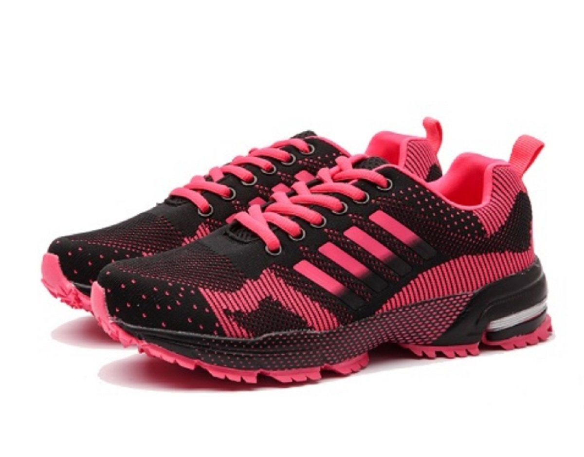 Fashion Running Shoes for Cross-Country Skiing. More Colors and Sizes. B07C919WXL 9 D(M) US Rose Red M