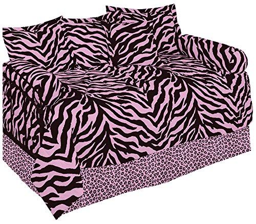 Karin Maki Zebra Daybed Set, Pink