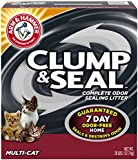 .Arm & Hammer. Clump & Seal Litter, Multi-Cat, 28 Lbs