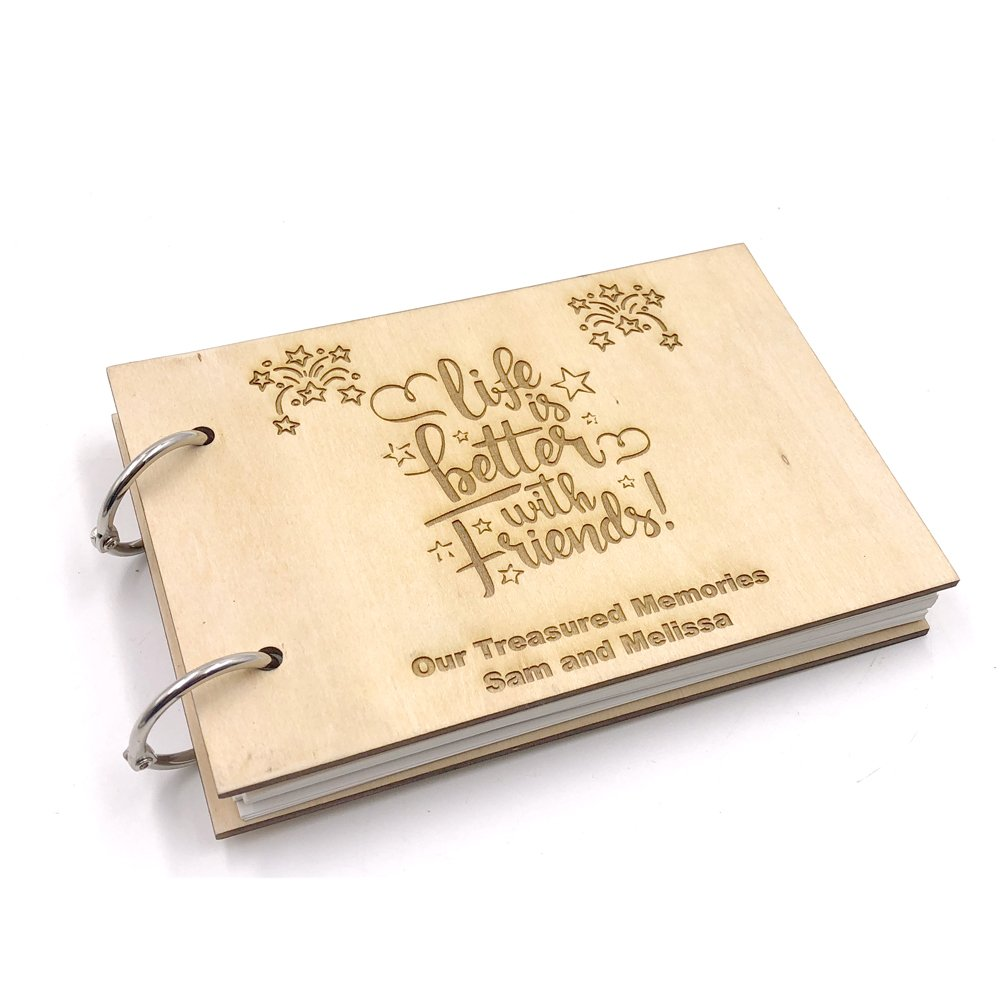 Personalised Wedding Memories Glitter Scrapbook Memory Photo Album Gift