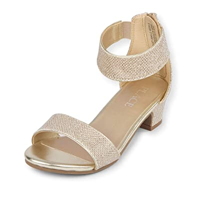 d57bcc37edc The Children's Place Kids' Heel Heeled Sandal: Buy Online at Low ...