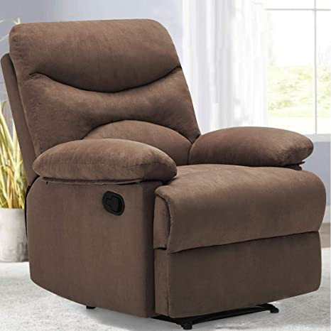 Amazon.com: FRIVITY Chair Recliner, Microfiber Ergonomic ...
