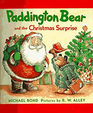 book cover of Paddington Bear and the Christmas Surprise