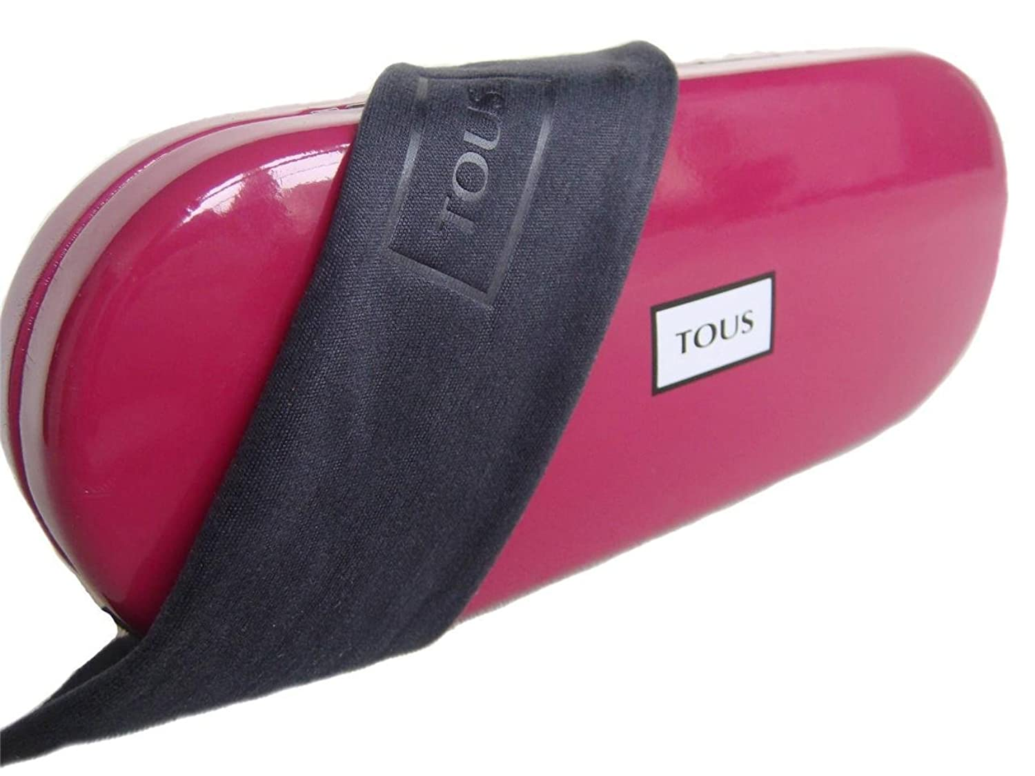 TOUS Spectacles Glasses Case + Lense Cloth (Cherry) Ex Display