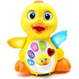 Fantastic Zone Musical Toys Duck Lights Action Kids Music Toys With Adjustable Sound