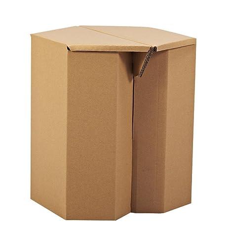 Amazon.com: Papel Maker bricolaje Cartón Hexágono silla ...