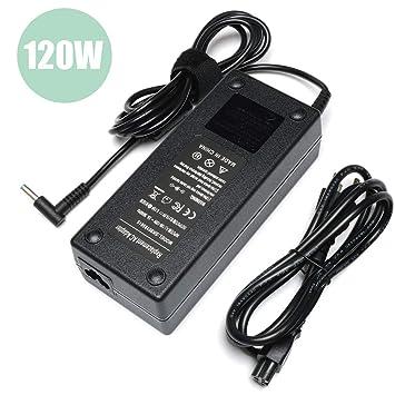 Amazon.com: 120 W Adaptador de alimentación de CA cargador ...