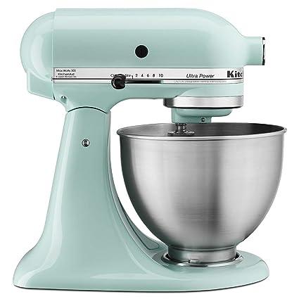 amazon com kitchenaid 4 1 2 quart ultra power stand mixer white rh amazon com