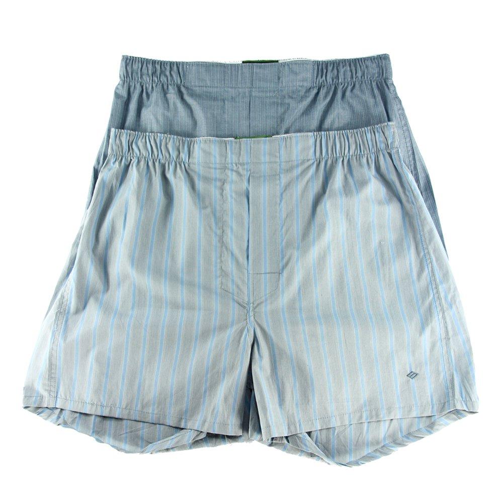 Joseph Abboud IWB Mens 12 Pack Cotton Classic Woven Boxer Underwear Sleep Shorts