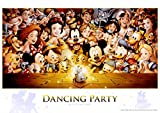 Tenyo D-284 Disney Dancing Party Jigsaw Puzzle (300 Piece)