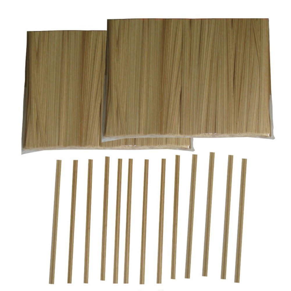 Aspire Wholesale Paper Kraft Twist Ties for Cello Bags, Pack of 1000 - 6 Inch,20 Packs by Aspire