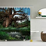 Best River's Edge Homes Curtains - Wings A strange tree shower curtain at the Review