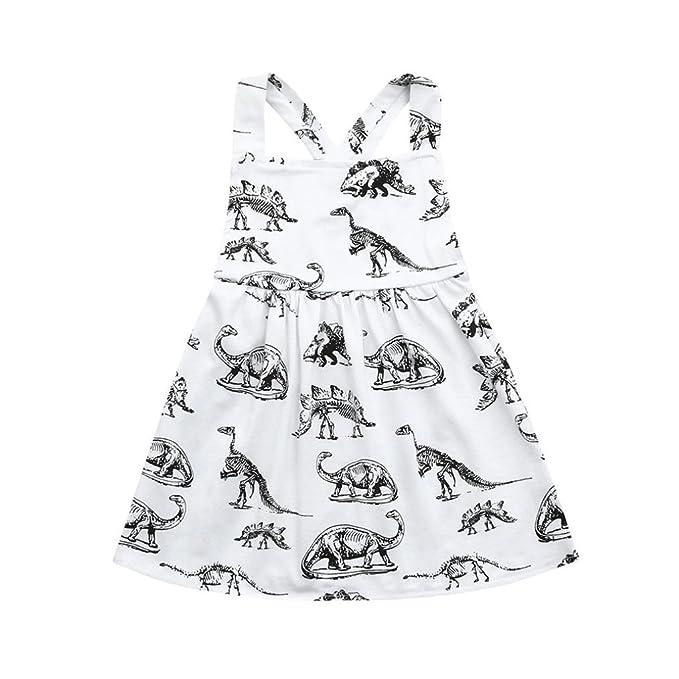 Amazon.com: Hatoys - Vestidos para bebé con estampado de ...