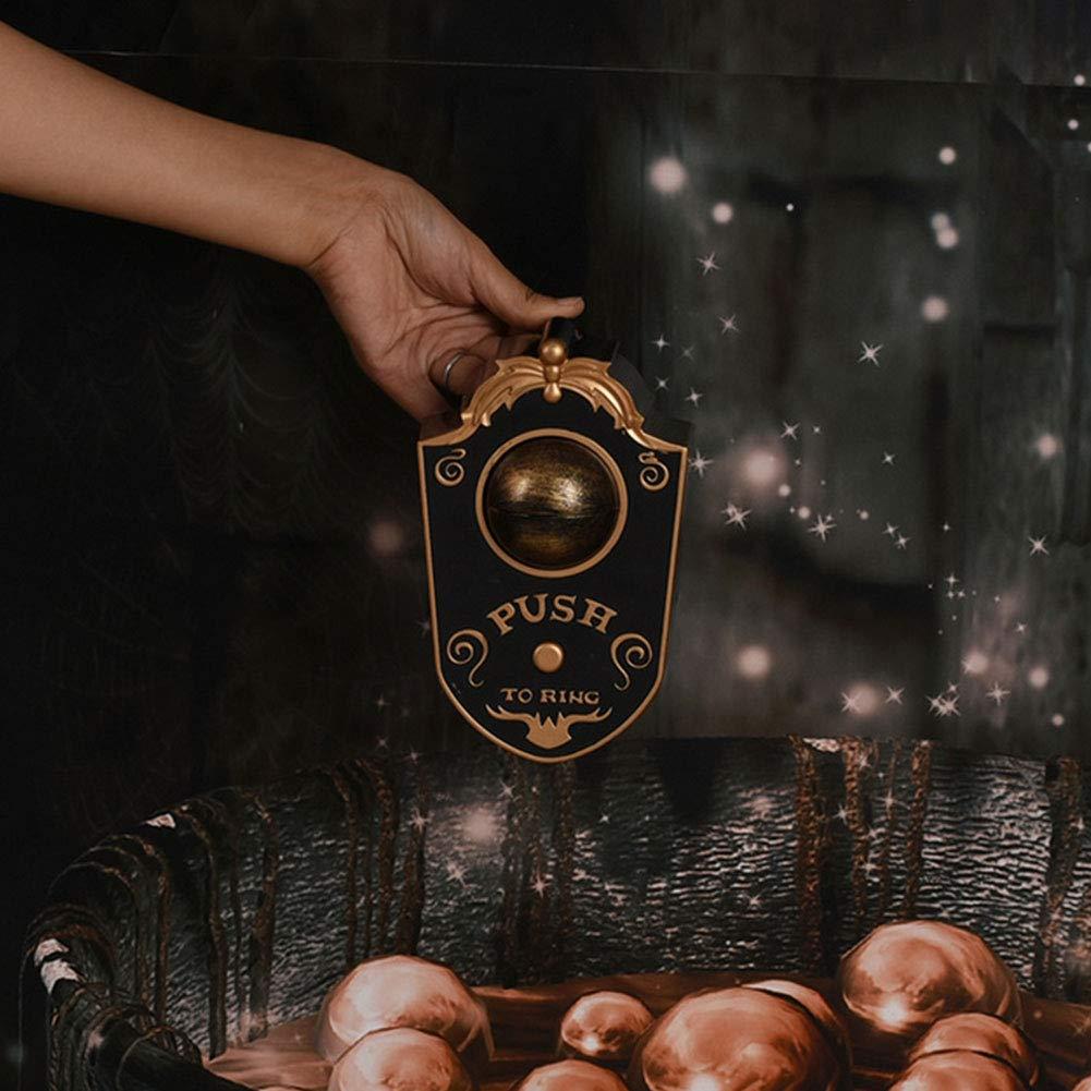 Allument La Sonnette doeil,19 * 15Cm QWW La Sonnette Unique dhorreur Borgne Les D/écorations Anim/ées dhalloween De Globe Oculaire De Sonnette /Éclairant Sonnera La Sonnette