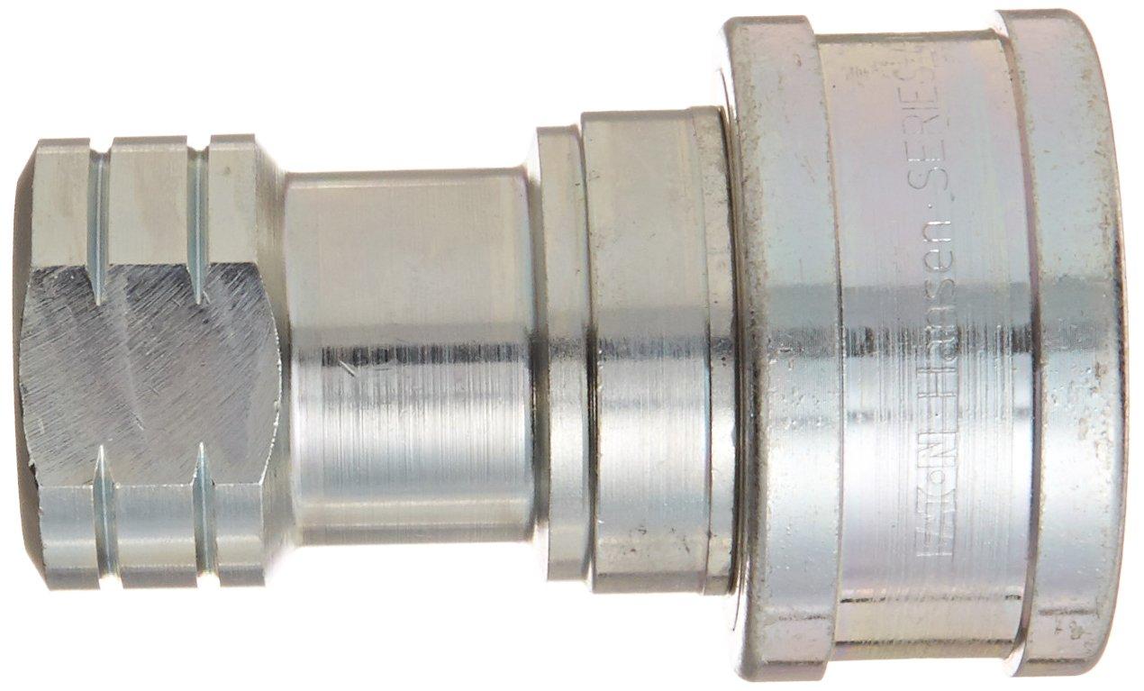 Eaton Hansen 4HP26BSNV Steel ISO-B Interchange Hydraulic Fitting 1//2-14 BSPP Female Socket 1//2 Body 1//2-14 BSPP Female 1//2 Body