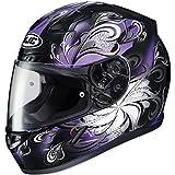 HJC CL-17 Cosmos Black/Purple Full Face Helmet, M