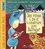 Des rimes à lire et à construire avec Balthazar