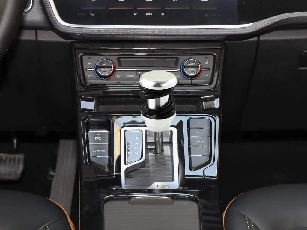 LUNSOM Manual Automatic Transmission Most Car Shifter Knob Colorful Aluminium Alloy Knobs Shift Gear Stick Head