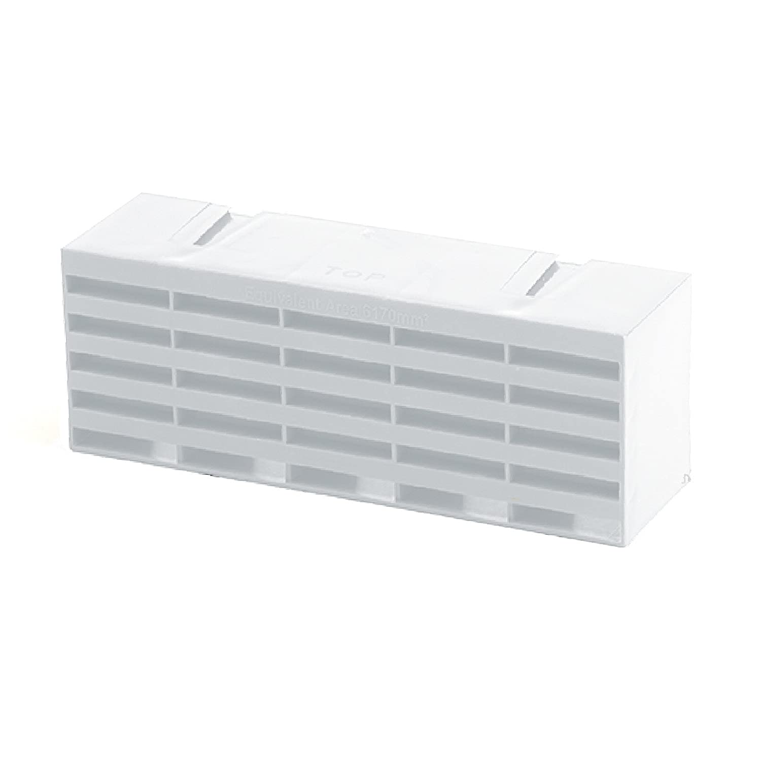 10 x White Air Bricks Vent 9'x 3' Airbrick Grille Air Flow Brick Ventilation Timloc