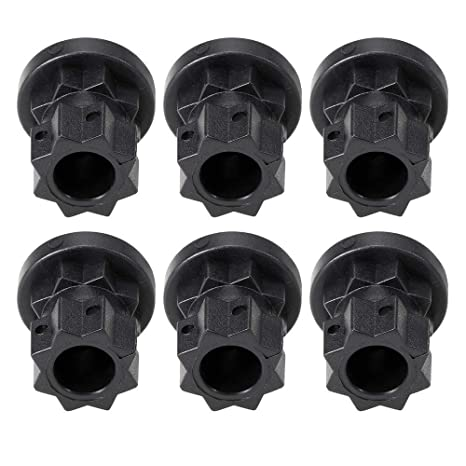 LNNUKc 6Pcs Ram Mount Track Mounting Base Track Gear ...