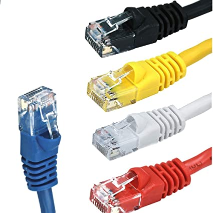 Premium Cord Patch Cable UTP RJ45 RJ45 CAT6 5 m Yellow