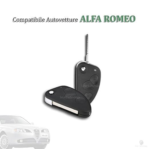 15 opinioni per GUSCIO SCOCCA COVER CHIAVE 3 TASTI TELECOMANDO PER AUTO ALFA ROMEO 147 156 166